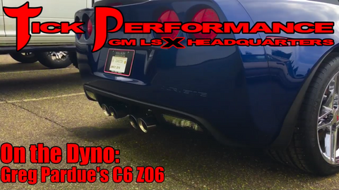 Greg Pardue's C6 Z06 on the Dyno!!!!!
