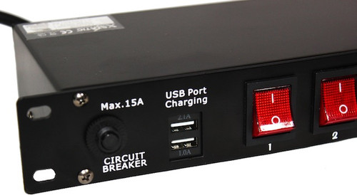 prox 10 channel switch panel with usb charging nlfx professional