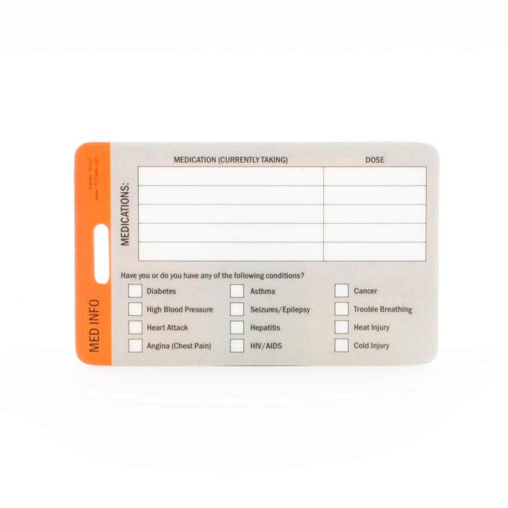 Medical ID Kit