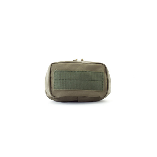 4x6 Zippered Med Pouch - Black