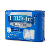 Medline FIT33600A UNDERWEAR,PROTECTIVE,SUPER,XL,56-68 CS 80/CS