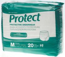 Medline MSC13005A PROTECTIVE UNDERWEAR,Medium,28-40 CS 80/CS