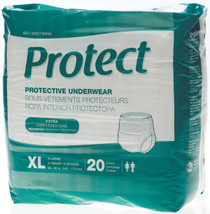 Medline MSC13600A PROTECTIVE UNDERWEAR,XL,56-68 CS 80/CS