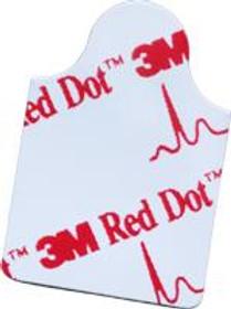 3M 2330N Electrode ECG DIAGNOSTIC ADULT FOAM SILVER/SILVER CHLORIDE SENSOR RECTANGULAR BG/100