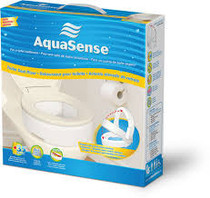 Drive 770-630 AquaSense Toilet Seat Risers with Hinge