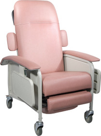 Drive Medical D577-R Clinical Care Geri Chair Recliner by Drive Medical, Rosewood