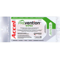 Accel ACCPREVW-SP-X WIPE HARDSURFACE PREVENTION ACCEL & 0.5% AHP SOFT-PACK PK/10 (ACCPREVW-SP-X)