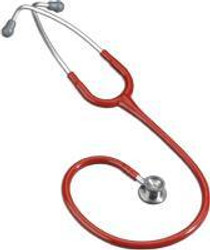 "3M-2114R Littmann CLASSIC II INFANT STETHOSCOPE, DOUBLE SIDED CHESTPIECE TECHNOLOGY, 28"" RED TUBE (3M-2114R)"