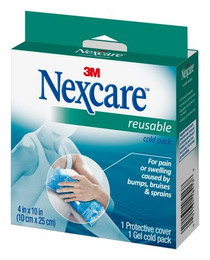 """3M 2641 Nexcare Reusable Hot/Cold Pack, 4"""" x 10"""" PK/1"""