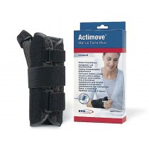 BSN-7349606 ACTIMOVE MANUS FORTE PLUS WRIST THUMB BRACE LG-XL, RIGHT, BLACK