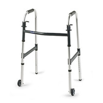 """Invacare 6291JR3F I-CLASS DUAL-RELEASE WHEELED WALKER, JUNIOR WITH 3"""" WHEELS"""