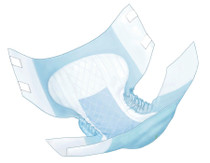 """Covidien (Kendall) 67034 WINGS ADULT QUILTED BRIEFS, NIGHT-TIME ABSORBENCY, LARGE (45"""" TO 58""""), BLUE,  CS/6BG (12EA/BG)"""