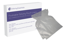 Ostomy Essentials LINERS Attiva Flushable Ostomy Pouch Liners, OPENING UP TO 57MM, SIZE 14.5CM X 20.5CM