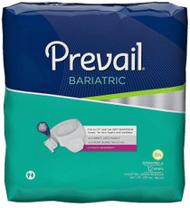 """Prevail PV-017 Bariatric Brief,  2XL up to 73"""" waist"""