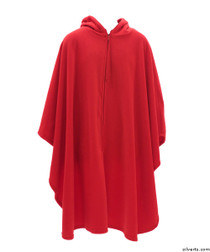 Silvert's 271000101 Mens Wheelchair Cape & Womens Adaptive Wheelchair Cape Clothing , Size ONE, RED
