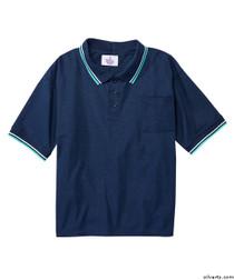 Silvert's 507100101 Adaptive Clothing Men , Size Small, NAVY