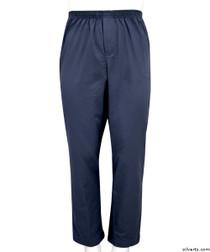 Silvert's 507900102 Full Elastic Waist Pants For Men , Size Small, NAVY