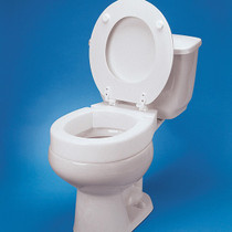 """Drive Medical 8312 Tall-ette Elevated Toilet Seat 2"""""""