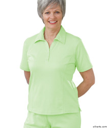 Silvert's 135100205 Womens Regular Popular Polo, Size 2X-Large, LIME