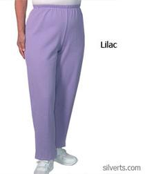 Silvert's 141200505 Regular Fleece Tracksuit Pants For Women , Size X-Large, LILAC