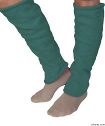 Silvert's 302600403 Women's Cozy Leg Warmers & Ankle Warmers , Size Medium, TURQUOISE