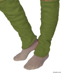 Silvert's 302600603 Women's Cozy Leg Warmers & Ankle Warmers , Size Medium, KIWI
