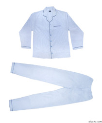Silvert's 500800103 Mens Flannel Pyjamas , Size Medium, ASSORTED