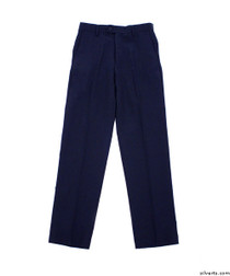Silvert's 501900101 Mens Washable Dress Pants , Size 28, NAVY