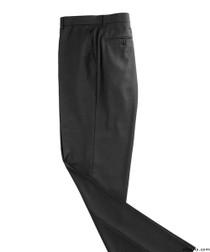 Silvert's 501900201 Mens Washable Dress Pants , Size 28, BLACK