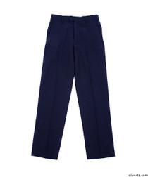 Silvert's 501900109 Mens Washable Dress Pants , Size 44, NAVY