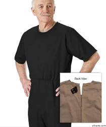 Silvert's 508300205 Mens' Alzheimers Clothing , Size X-Large, BLACK
