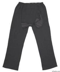 Silvert's 509400305 Fleece Adaptive Wheelchair Pants For Men , Size X-Large, GREY MIX