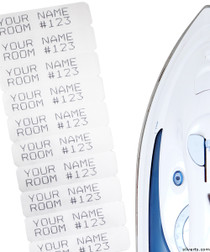 Silvert's 30000000 Iron On Nursing Home Laundry Name Labels , Size NA, NA