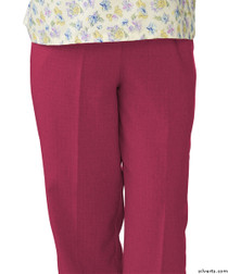 Silvert's 232200203 Womens Adaptive Open Back Wheelchair Pants , Size Large, ORCHID