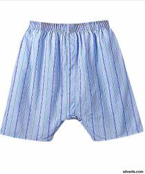 Silvert's 502700104 Mens Regular Boxer Shorts, Size Large, ASSORTED