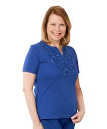 Silvert's 500501703 Mens Adaptive Cotton Hospital Patient Nightgowns, Open Back,Snap Back, Medium, WINE PAISLEY