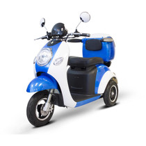 EWheels EW-37 Mobility Scooter Blue - Shipping Included