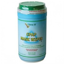 """Beaumont 635871639 CITRUS II CPAP MASK CLEANING WIPES, 5"""" X 8"""""""