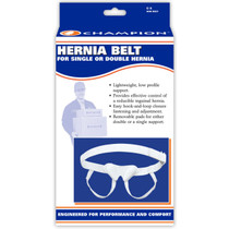 Universal hernia support, hook & pile closure, double S-M-L-XL-2XL (C-05)