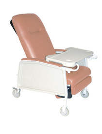 Drive Medical D574-R 3 Position Geri Chair Recliner, Rosewood