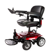 Drive Medical COBALTX23RD16FS Cobalt X23 Power Wheelchair, Red