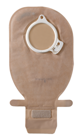 """ASSURA OPAQUE Drainable Pouch with EASICLOSE, FLANGE SIZE 2 3/8"""" (60mm) BX/10 (COL-13966)"""