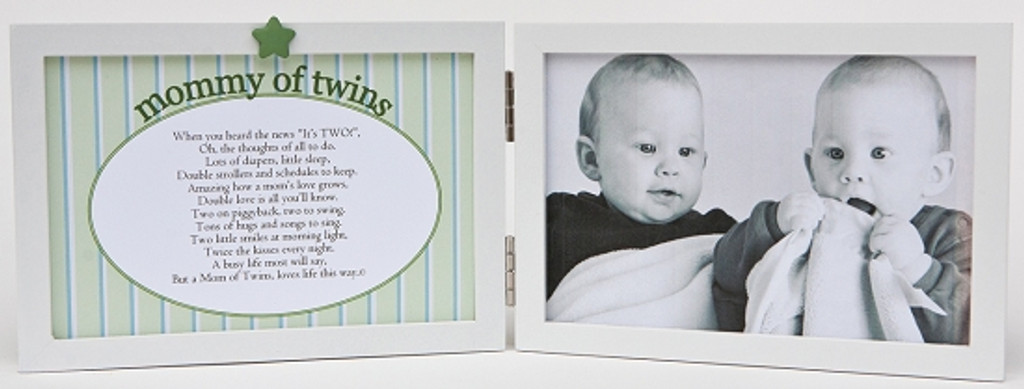 Mommy of Twins Picture Frame