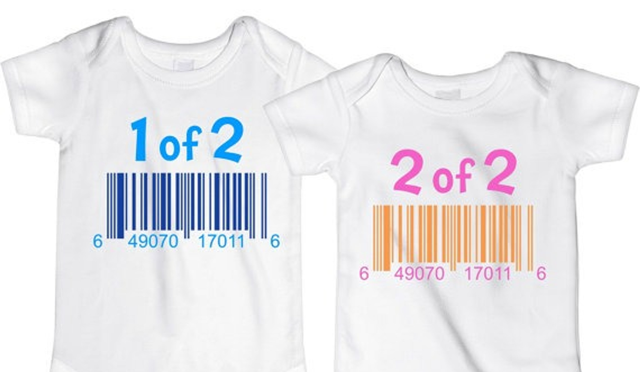 1 of 2 shirt set for twins