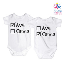 Twin Name Shirts