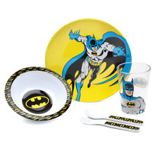 Batman Mealtime 5 Piece Set