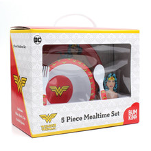 Wonder Woman Mealtime 5 Piece Set