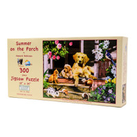 Summer on the Porch (300 Large Piece Puzzle)