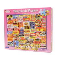 VIntage Candy Wrappers Jigsaw Puzzles from White Mountain