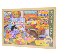 Crafty Kittens Puzzle from Cobble Hill